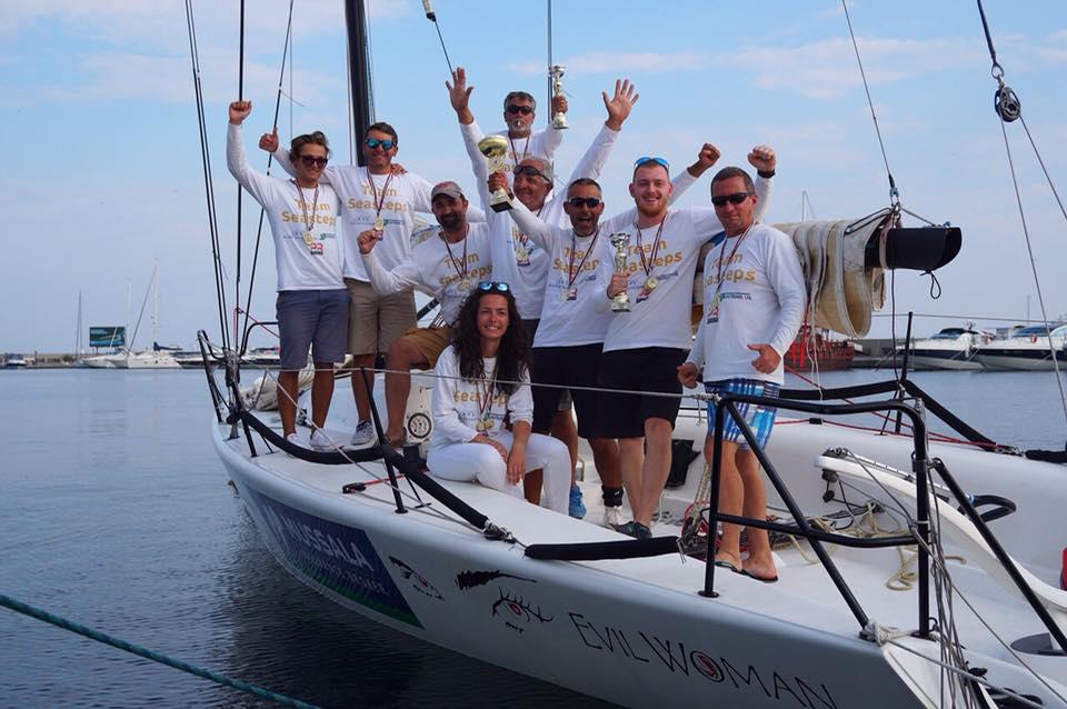 Партньорите ни от Team Seasteps с три купи за първо място на държавното първенство